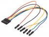 6-PIN MTE CABLE | Yhdistysjohto; naaras-naaras,1x6 piikki-pistorasia