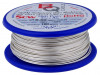 SCW-0.60/100 | Silver plated copper wires; 0.6mm; 100g; 40m; -200÷800°C