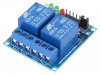 OKY3012-4 | Module: relay; Channels: 2; 5VDC; max.250VAC; 10A; 45x40x19mm