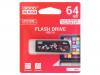 UCL3-0640K0R11 | Pendrive; USB 3.0; 64GB; Luku: 60MB/s; Tallennus: 20MB/s