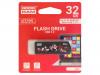 UCL3-0320K0R11 | Pendrive; USB 3.0; 32GB; Luku: 60MB/s; Tallennus: 20MB/s