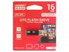 OTN3-0160K0R11 | Pendrive; OTG,USB 3.0; 16GB; Luku: 120MB/s; Tallennus: 10MB/s