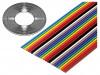 135-2801-010 | Przewód: wstążkowy; 1,27mm; linka; Cu; 10x28AWG; nieekranowany; PVC