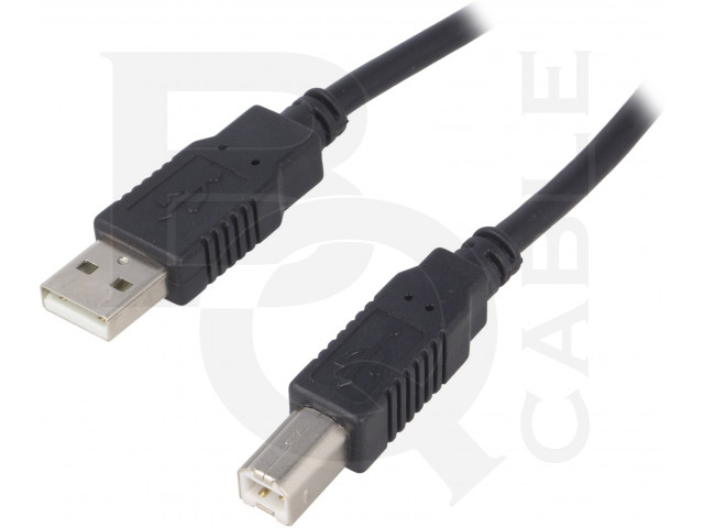 CAB-USBAB/5-BK BQ CABLE, Cable
