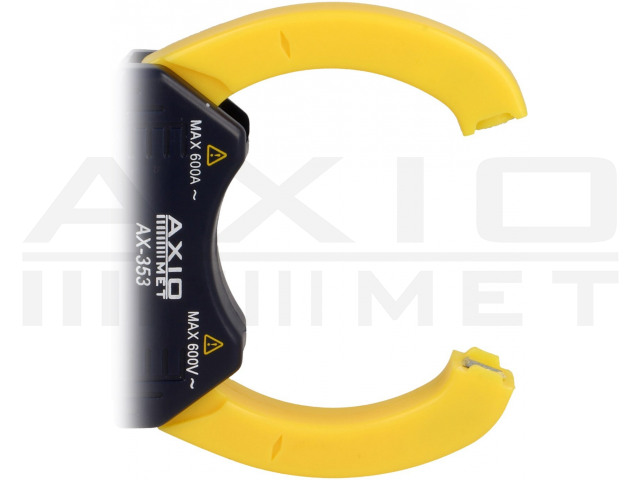 AX-353 AXIOMET, Pinza amperometrica digitale AC