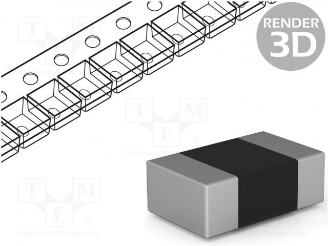 AVX 02016D104KAT2A - Kondenzátor: keramický