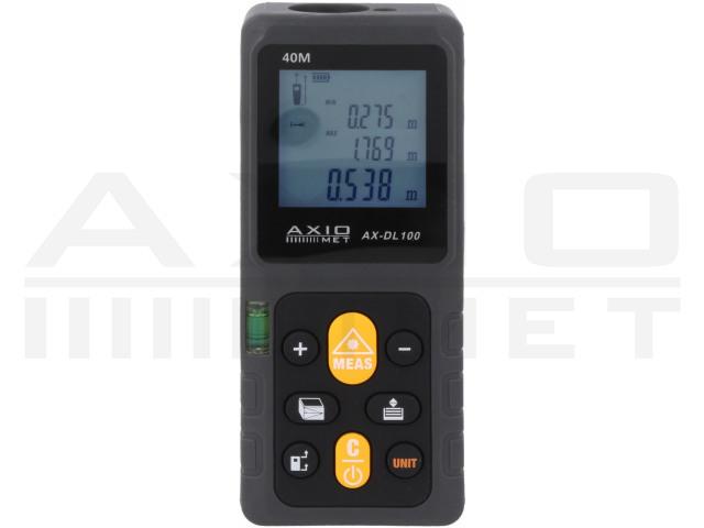 AX-DL100 AXIOMET, Laser-Entfernungsmesser