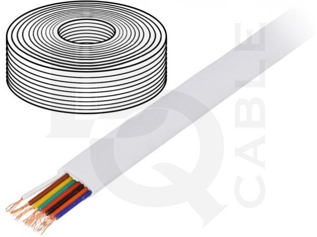 TEL-0081-100/WH BQ CABLE, Vodič