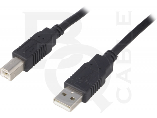 CAB-USB2AB/1.8-BK BQ CABLE, Cable