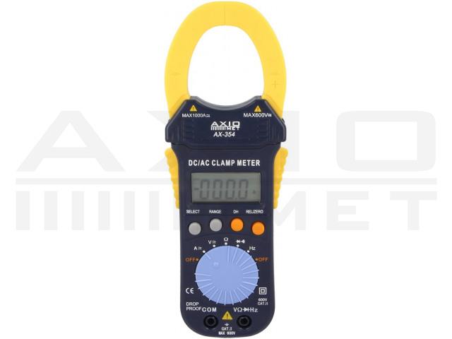 AX-354 AXIOMET, AC/DC digitales Zangenmessgerät