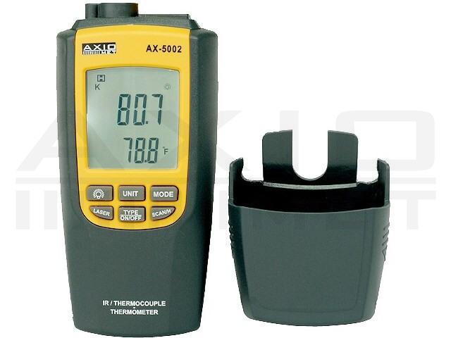 AX-5002 AXIOMET, Medidor de temperatura