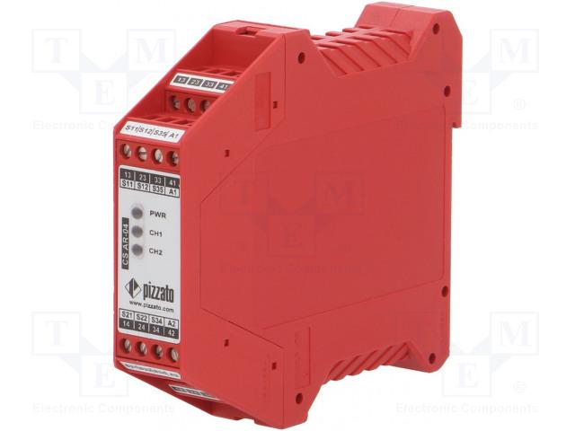 PIZZATO ELETTRICA CS AR-04V024 - Modul: bezpečnostní relé