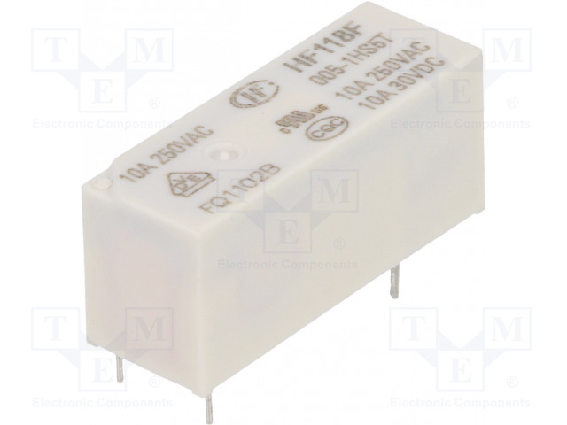 HONGFA RELAY HF118F/005-1HS5T - Relé: elektromagnetické