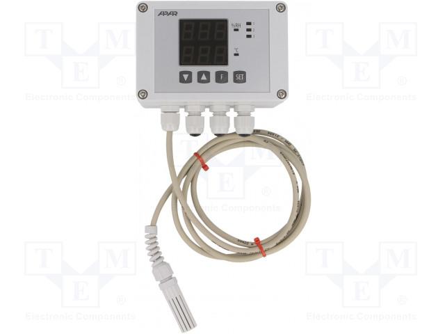 APAR AR247/2/S1/P/P/WA/P - Modul: regulátor
