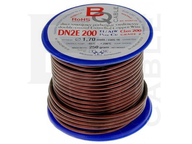 DN2E1.70/0.25 BQ CABLE, Tekercselő vezeték