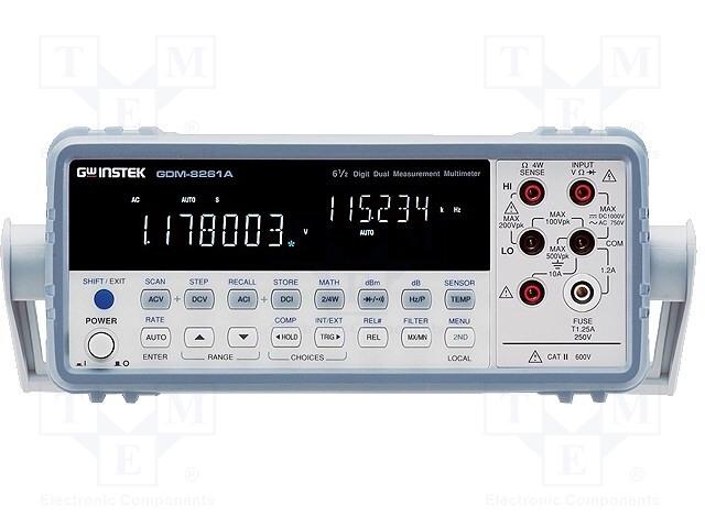 GW INSTEK GDM-8261A - Stolní multimetr
