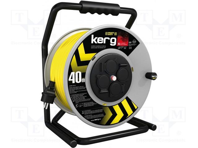 KERG KG.01.1.1D.32.40.63 - Prodlužovací síťový kabel