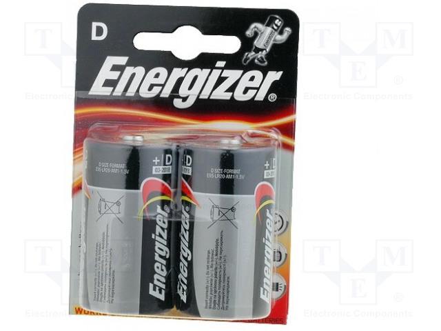 ENERGIZER BAT-LR20/EGB-B - Baterie: alkalická