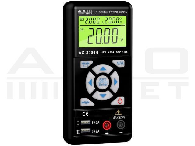 AX-3004H AXIOMET, Voedingseenheid