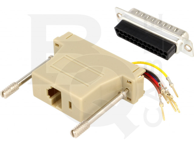 ADPT-RJ45/25M BQ CABLE, Adapter