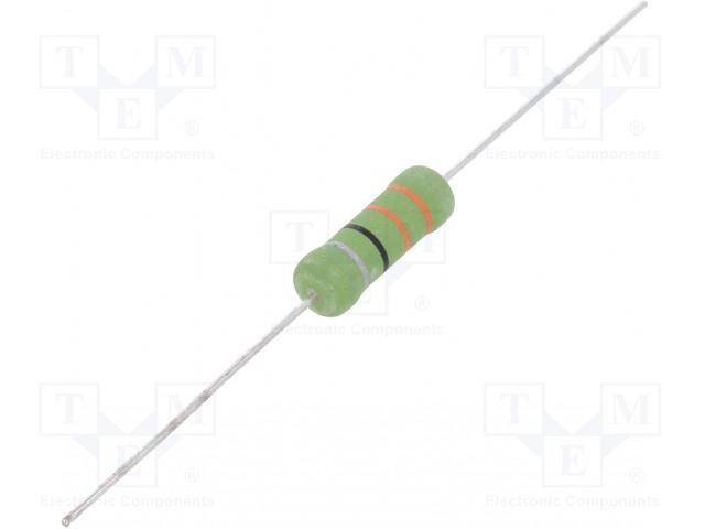 OHMITE OY102KE - Rezistor: drátový