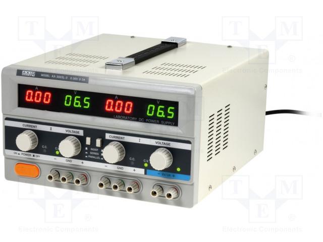 AXIOMET AX-3003L-3 - Napájecí zdroj: laboratorní
