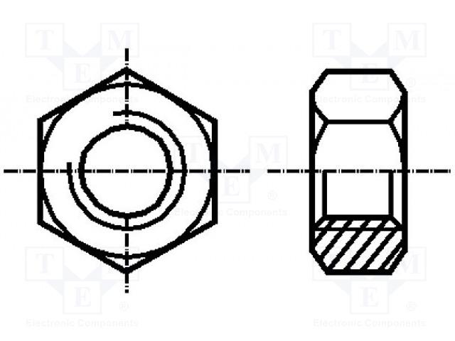 BOSSARD M4/BN117 - Matice