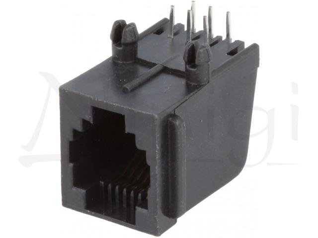 RJ12G-PCB NINIGI, Socket