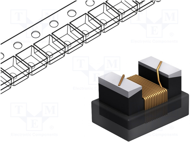 FASTRON 0402AS-010J-08 - Inductor: wire
