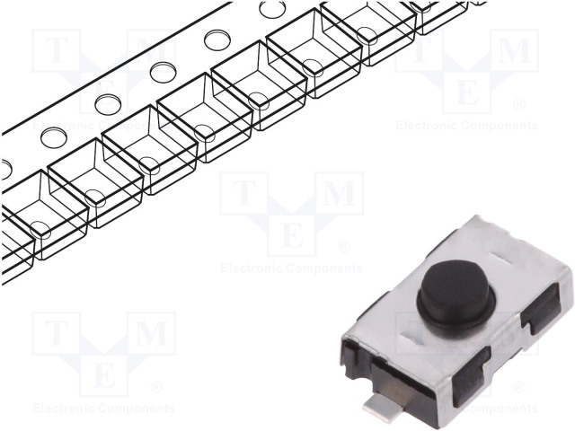 C&K KSR211G LFS - Mikroschalter TACT