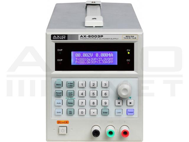 AX-6003P AXIOMET, Alimentador