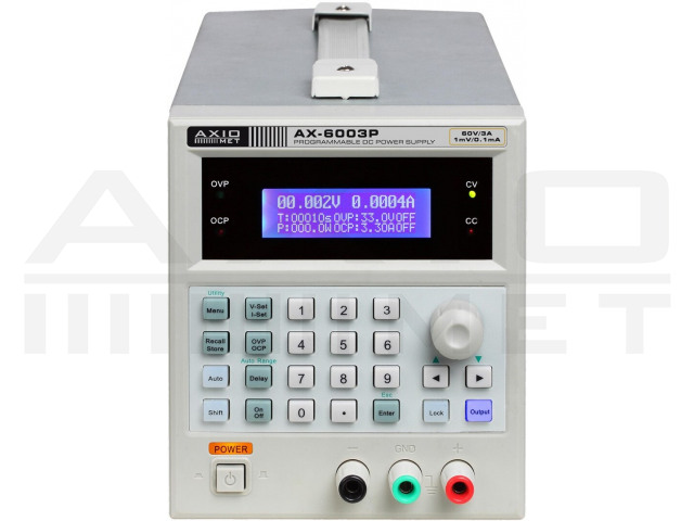 AX-6003P AXIOMET, Alimentator