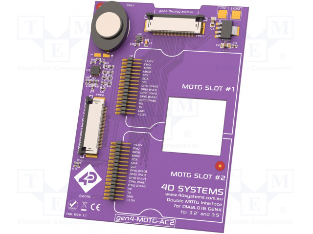 4D Systems MOTG-AC2 - MOTG