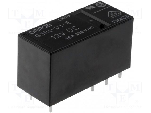 OMRON OCB G5RL-K1A-E-5DC - Relé: elektromagnetické
