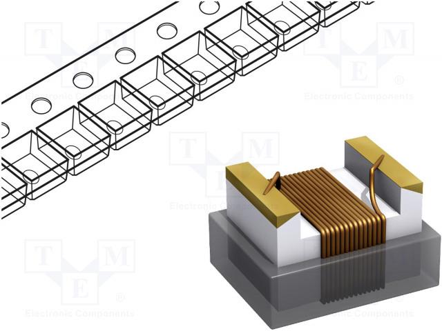 FASTRON 1210AS-5R6K-01 - Дроссель: проволочный