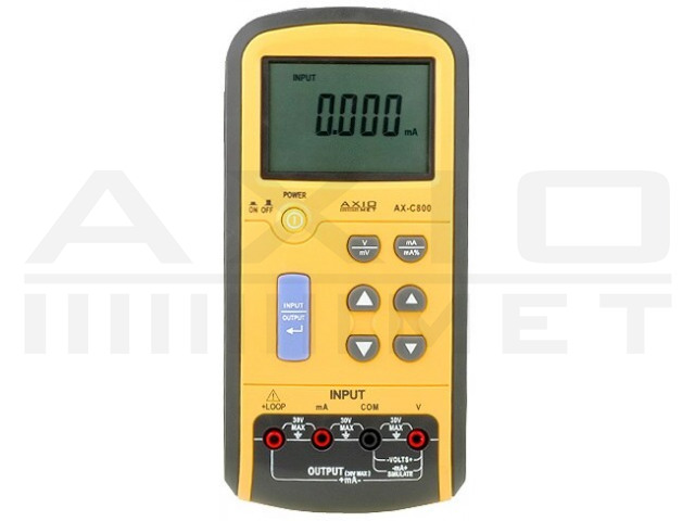 AX-C800 AXIOMET, Kalibrator