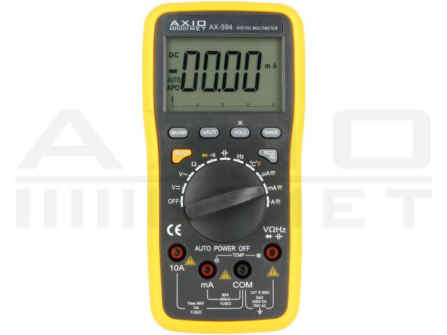 AX-594 AXIOMET, Multimetro digitale