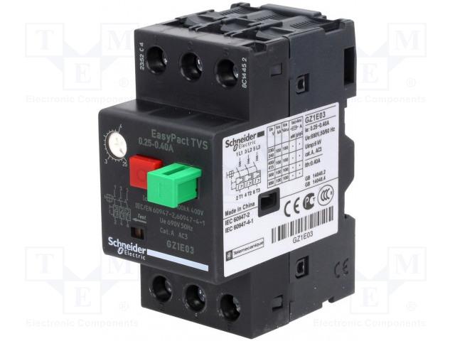 SCHNEIDER ELECTRIC GZ1E04 - Motorový jistič