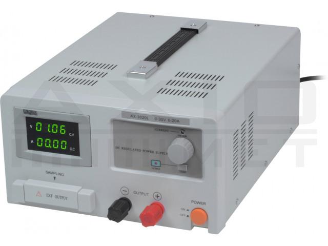 AX-3020L AXIOMET, Napájací zdroj