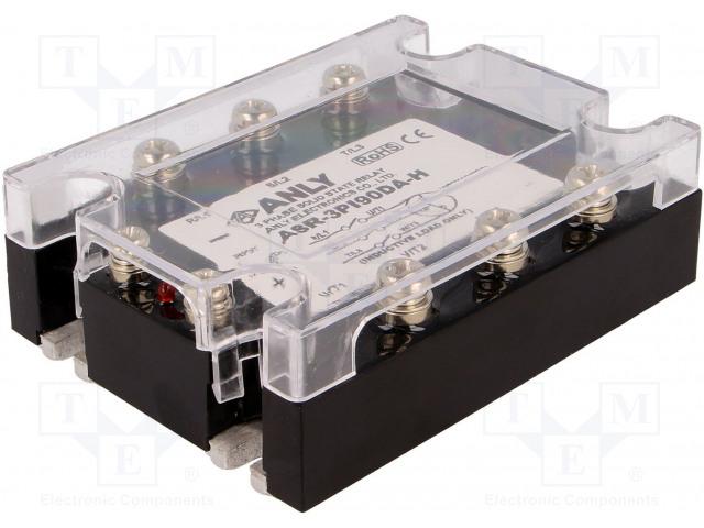 ANLY ELECTRONICS ASR-3PI90DA-H - Relé: polovidičová