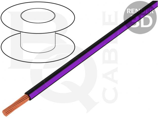 LGY0.35-BK/VI BQ CABLE, Cablu