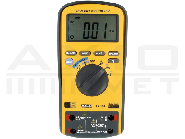 AX-174 AXIOMET, Digitale multimeter