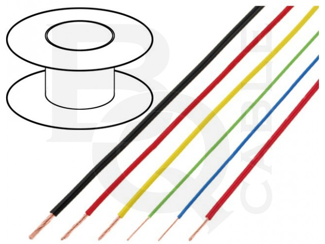 FLRY-A0.22-BK BQ CABLE, Leiding