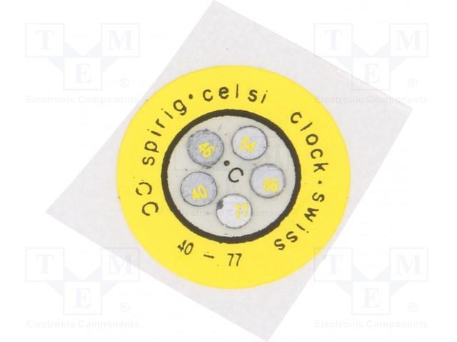 SPIRIG CC-040/077 - Indikátor teploty