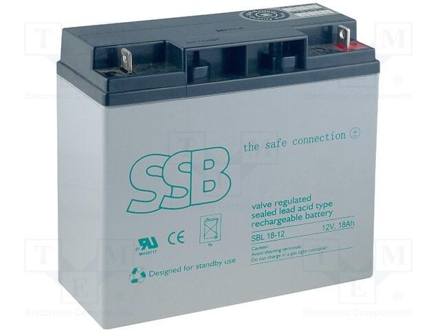 SSB SBL 18-12 - Akum: kyselino-olověné