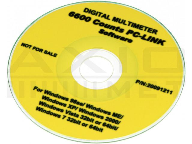 AX-176 AXIOMET, Multímetro digital