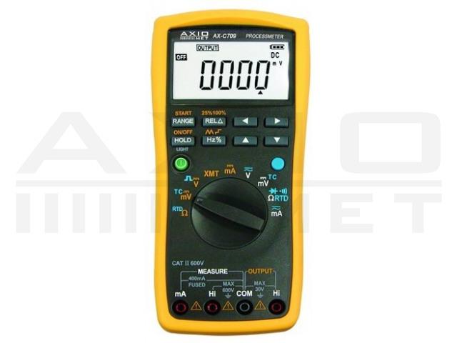 AX-C709 AXIOMET, Multimeter kalibratietoestel