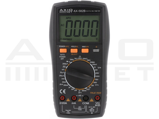 AX-582B AXIOMET, Multimetru digital