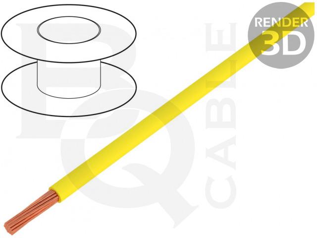 FLRYW-B0.75-YL BQ CABLE, Vodič