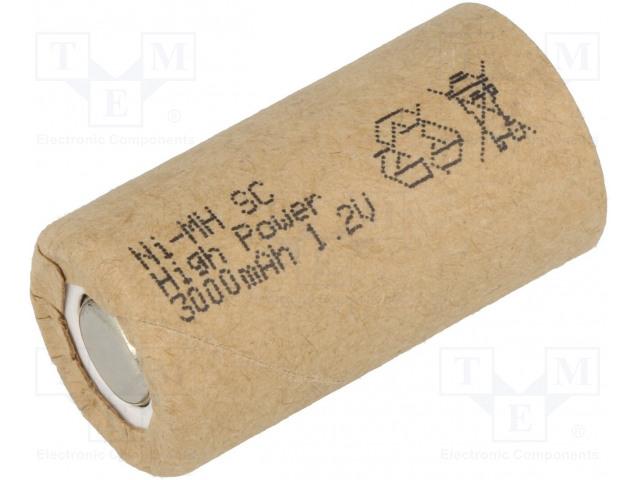 JJJ JJJ BATTERY SC300HP SC - Akum: Ni-MH